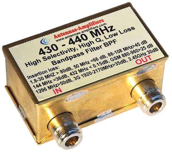 432MHz-70cm-Low-Loss-EME-Bandpass-Filter-Outdoor