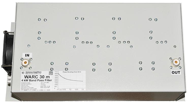 WARC-30m-BandPass-Filter-4kW-10MHz