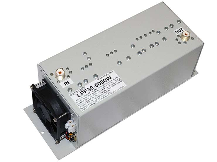 HF Ultimate LPF Low Loss Filter 5kW High Power 5000W