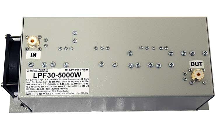 HF Low Pass Filter LPF 5000W Appearance