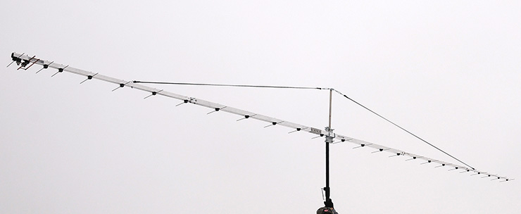 Radio Astronomy Antenna 406.10MHz-410.00MHz-416MHz Virgo A