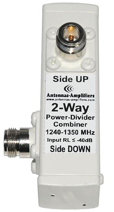 23cm-power-divider-2-Way-1296-MHz-1240-1350 MHz