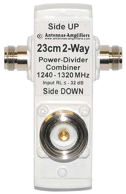 23cm-2-Port-Power-Divider-DIN-connector