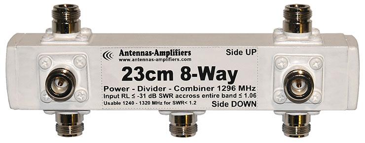 23cm-8-way-power-divider-combiner-1296mhz