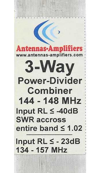 3-Port-2m-Power-Divider-144-MHz-3-Way-Splitter