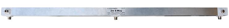 2m 144MHz 6-Port-Power-Divider Splitter