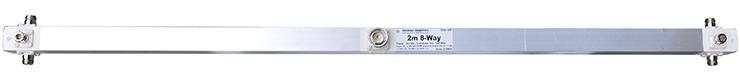 2m-8-way-power-divider-combiner-7/16 DIN input connector