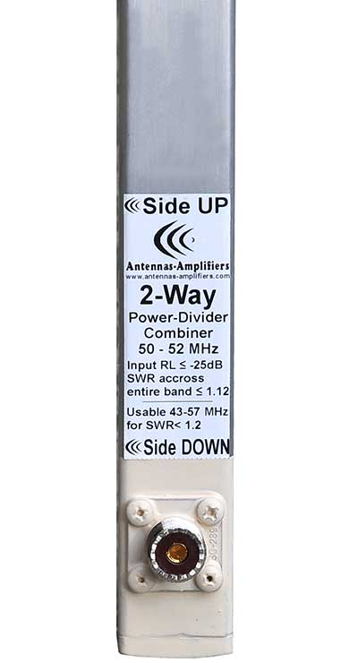 Power-splitter-6m-50-MHz-2-port