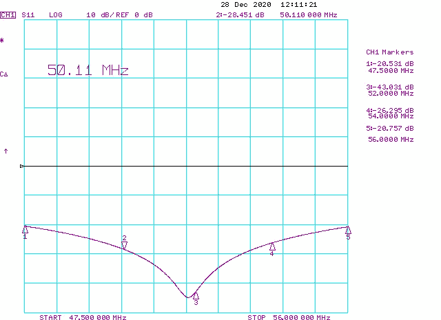 S11-Spliter-Divider-1on4-50-54MHz-6MeterBand