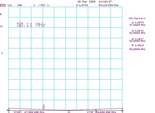 SWR-Power-Divider-1-4-6Meter-50-54MHz