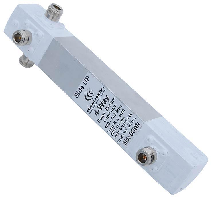 430-432-440-MHz-4-Way-Divider-Antennas-Amplifiers-70-cm-Band