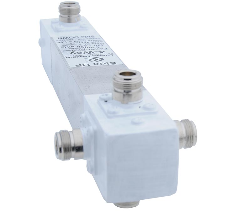 70-cm-4-Way-Power-Divider-High-Power-Antennas-Setup-432-MHz