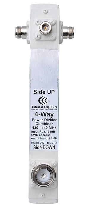 70cm-432mhz-4-way-power-Splitter-7-16DIN-input-connector