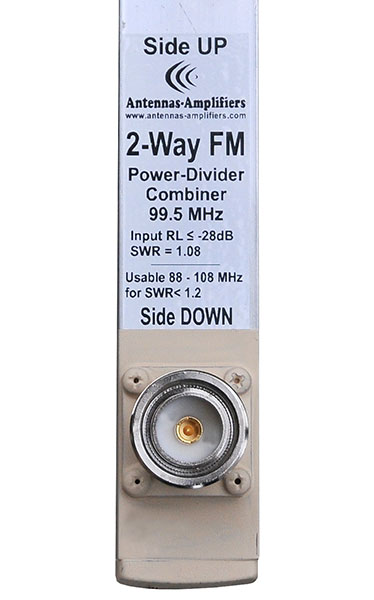 FM-Radio High Power 2-port-power-divider-splitter-7-16DIN-input