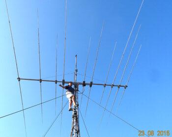 3-Band Ultimate 10 Element HF Yagi Antenna 3B-334HD