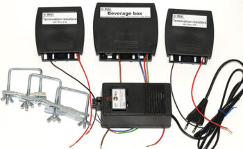 Beverage box 1.8, 3.5, 7 MHz two directions complete set