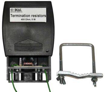 Termination resistors for Beverage boxes 8 W