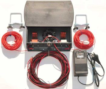 """3500W Inverted """"V"""" dipole antenna 3.535 / 3.74 MHz with relay switches"""