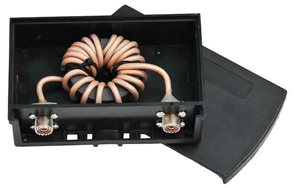 Low Band Common Mode Choke - Current Balun 3.5 kW Outdoor