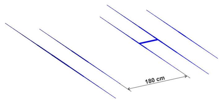 5 Elements WARC Yagi PA18-24-5-4HD 2-Band 17 and 12m