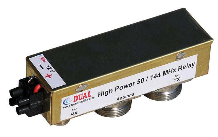 Cheap High Power 50 / 144 MHz Relay