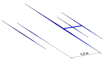 3-Band WARC antenna 30 17 12m PA10-18-24-5-3HD