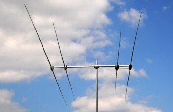 PA18-24-4-2.5HD Two band WARC antenna 17 and 12m