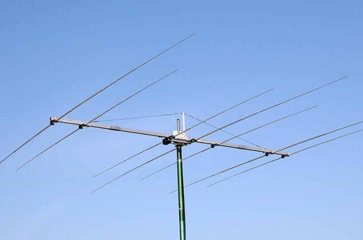 7 elements Two Band WARC Yagi Antenna 17m and 12m PA18-24-7-6HD