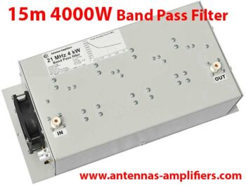15m, 21MHz High power band-pass filter 4kW