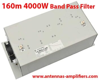 160 meter Topband Band-Pass Filter 4 kW