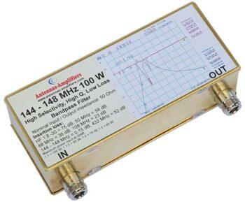 144 - 148 MHz 100 W Receive Transmit Bandpass Filter