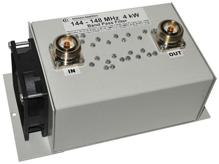 144 - 148 MHz, 2 Meter band High Power Bandpass Filter 4000W
