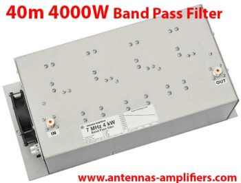 40m 7 MHz High Power Band-Pass Filter 4kW