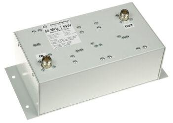 50 - 51 MHz 1.5 kW Low Loss Bandpass Filter BPF 6m Magic Band
