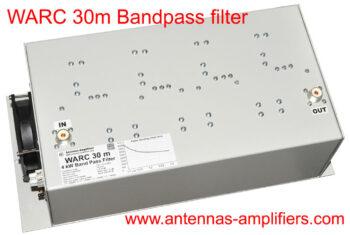 WARC 30 Meter Band-Pass Filter