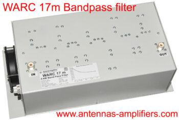 WARC 17 Meter Band-Pass Filter