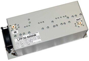 HF Lowpass Filter 5000W Extreme Power LPF30-5000W