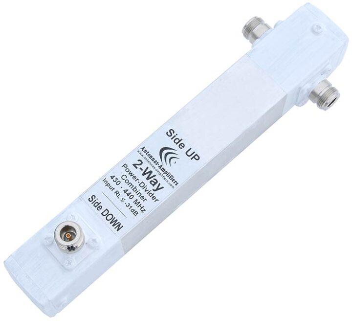 70cm 2Port Coaxial Power Splitter - Divider 432MHz 0.25wl